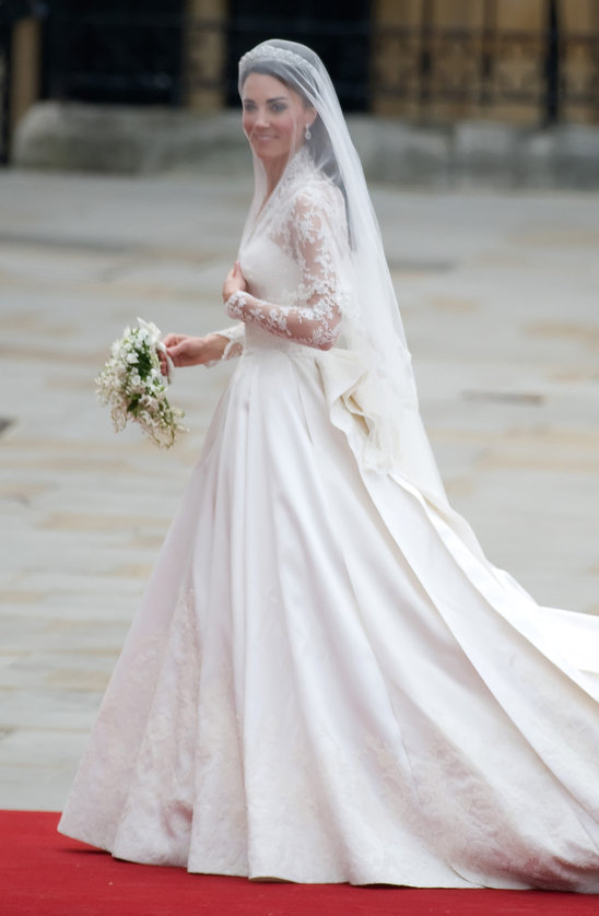 Royal wedding overdressed for life for Princess catherine wedding dress