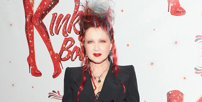Fashionable quote of the week by cyndi lauper for Kinky boots cyndi lauper