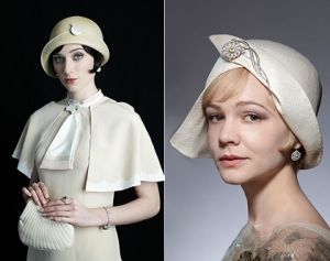 Hats designed by Rosie Boylan for The Great Gatsby.