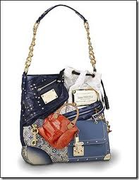 A LV tote made of LV handbags. Designed by Marc Jacobs.