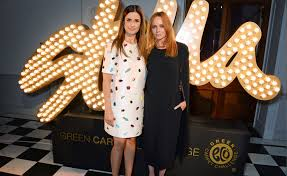 Liva Firth and Stella McCartney.