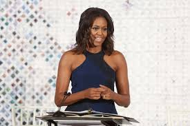 Our lovely First Lady, Michelle Obama speaking at Operation Fashion.