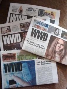 I will miss the paper WWD.