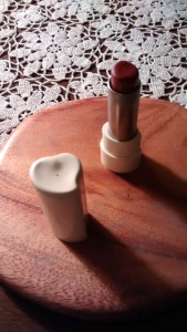 Halston lipstick circa 1979.