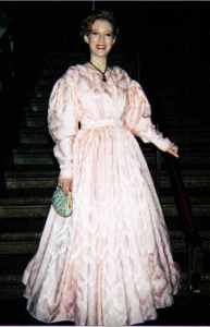 That's me! At The Gaskell Ball, c.1995.