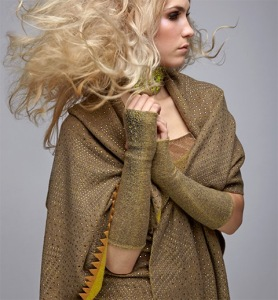 Knitwear accessories by Elyse Allen. Photo courtesy of ACC.