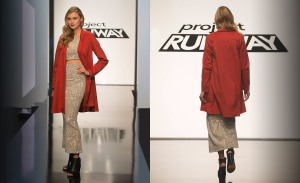 Lindsey Creel's design for Project Runway, episode 4.