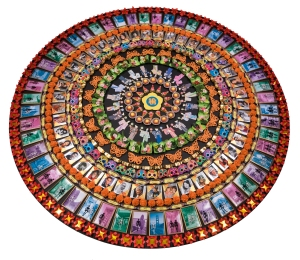 Mandala by Nancy Hom.