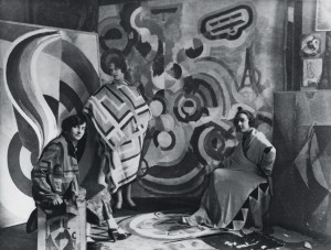 Designs by Sonia Delaunay in 1924.