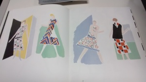 Sonia Delaunay fashion plates from Sonia Delaunay: Art into Fashion.