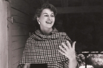 Bonnie Cashin in 1957.