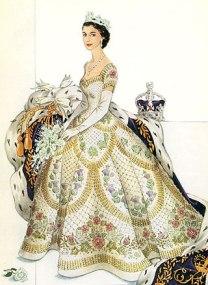 queen-dress-drawing