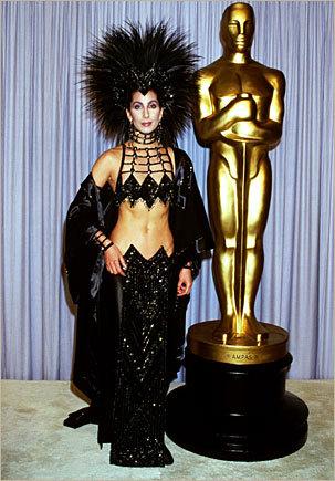 Cher 1986 Oscars